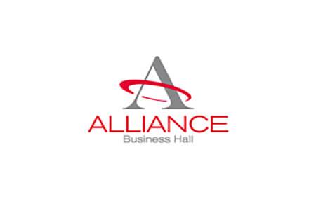 Розробка дизайну логотипу та фірмового стилю для бізнес центру Alliance Business Hall