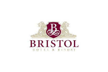 Розробка дизайну логотипу та фірмового стилю для готелю Bristol