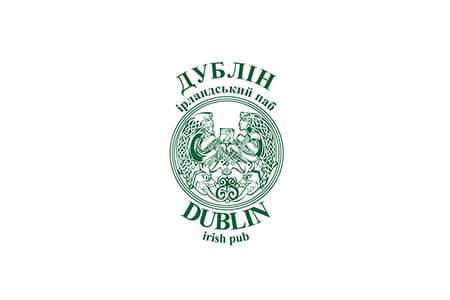 Розробка дизайну логотипу та фірмового стилю для ірландського пабу Дублін