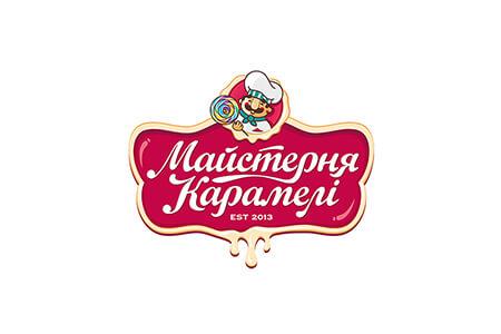 """Розробка дизайну логотипу та фірмового стилю для кондитерської """"Майстерня карамелі"""""""