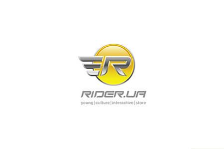 Розробка фірмового стилю для рітейлера спортивних товарів Rider.ua