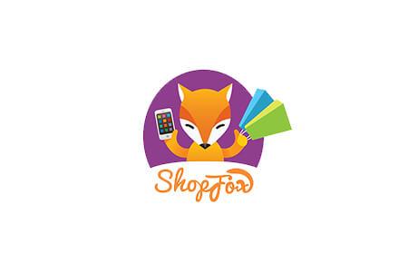 Розробка логотипу для мобільного додатку ShopFox