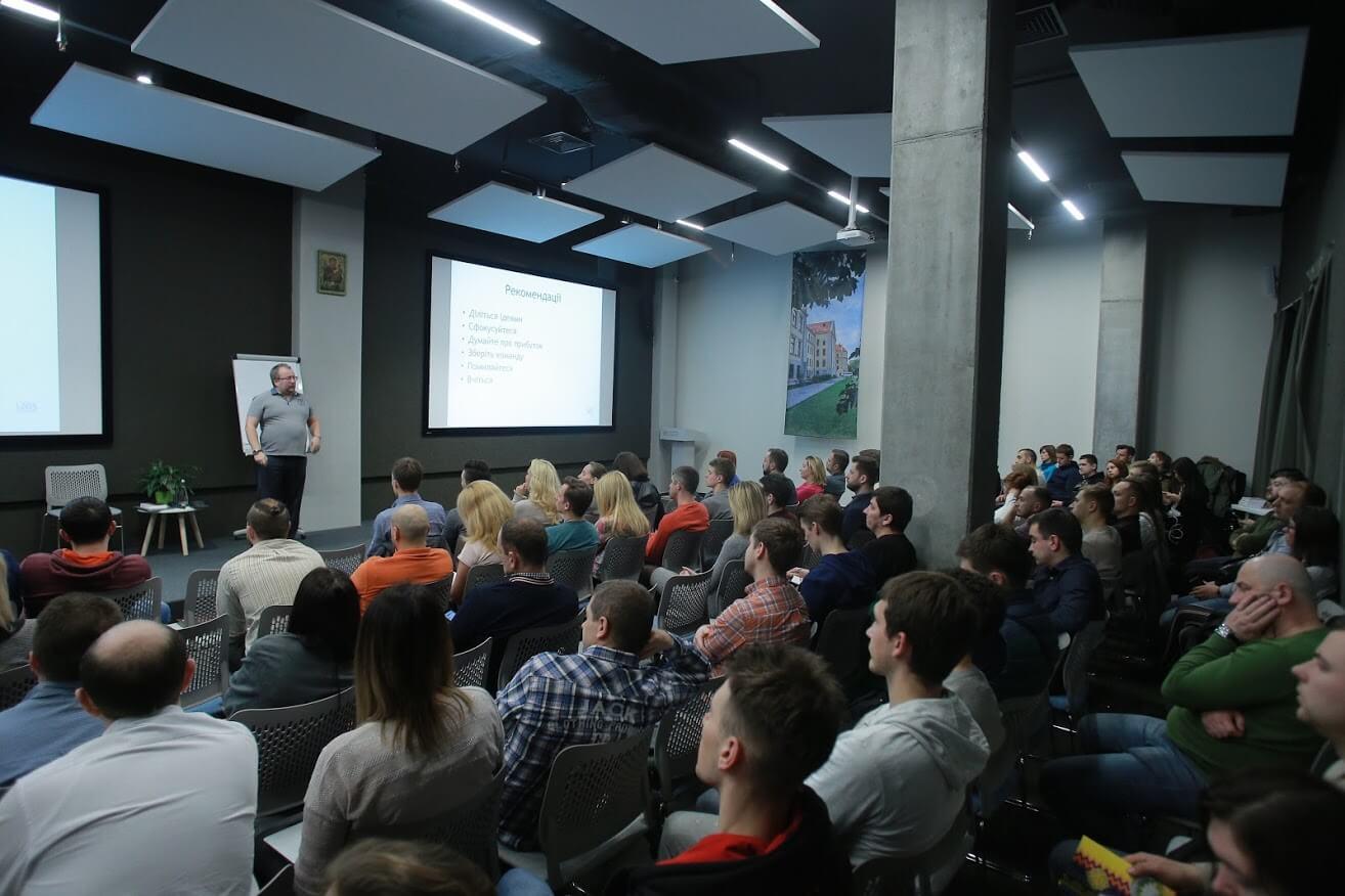 Як створити стартап і масштабувати його: VITAMIN на лекції Андрія Рождественського