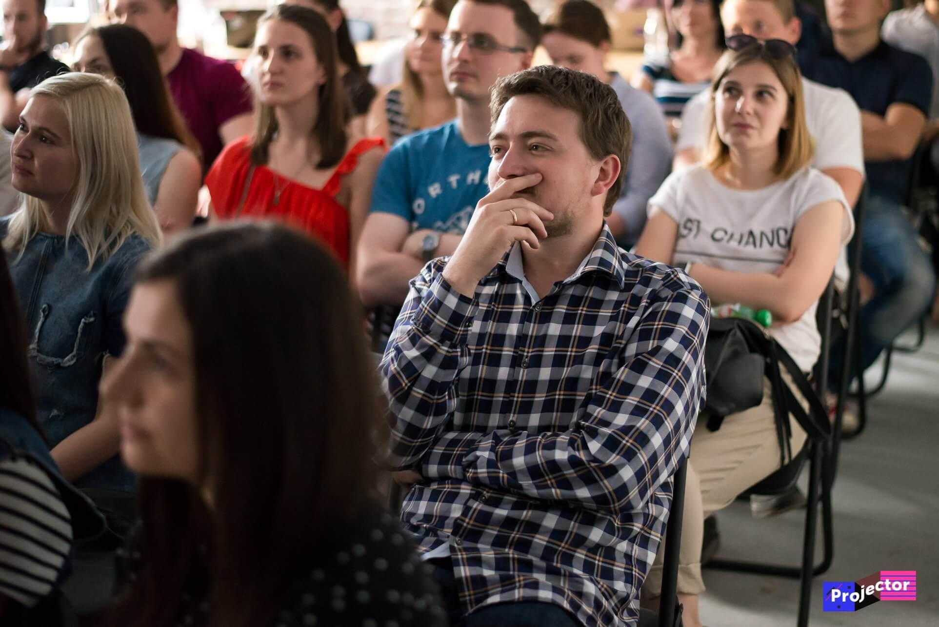 Аффорданси. VITAMIN на лекції Андрія Статкевича про UX та сприйняття інформації