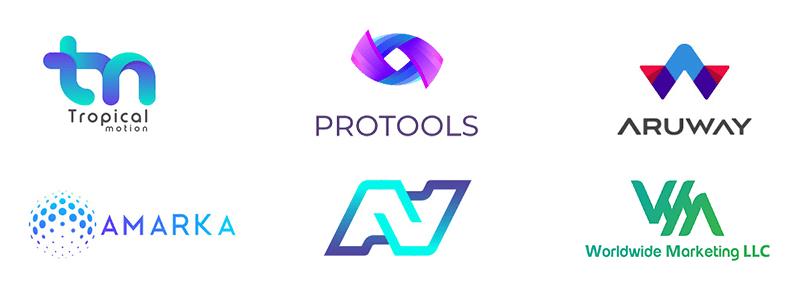 Тренди в логотипах 2019